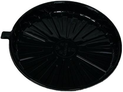 Cateringschaal pet rond 269mm hoog 20mm zwart 22DX30ST
