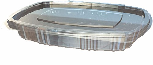 Bak + deksel transparant 150cc V61