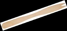 Frietvorkje 2-tands 12cm hout