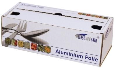 Aluminium rol 30cm / 200mtr 12my cutterbox