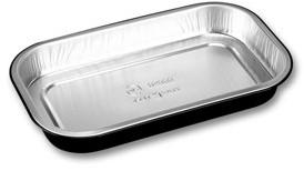 Aluminium bak Ready2Cook 234x138x30 zwart 700 ml