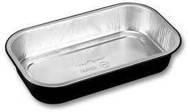 Aluminium bak Ready2Cook 234x138x43 zwart 940 ml