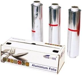 Aluminium rol 45cm / 150mtr 14my cutterbox