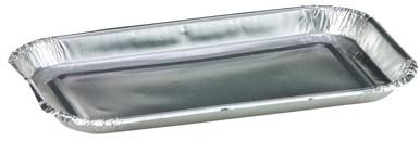 Aluminium schaal 7x13cm 60ml 20713