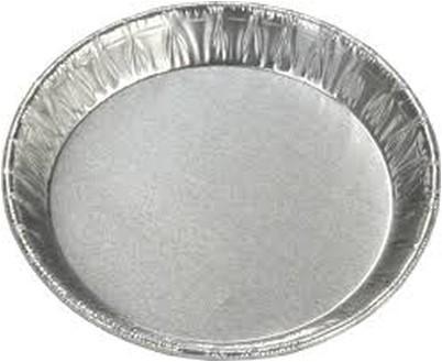 Aluminium schaal rond 100x14mm 10100 5109
