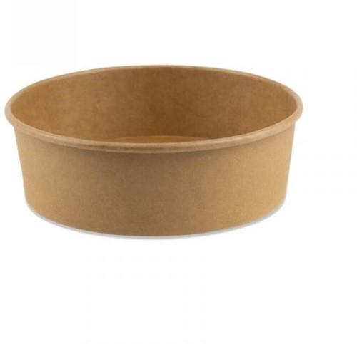 Bak rond karton bruin 500 ml ø14cm