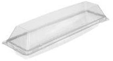 Baquette bakje 324x100x75mm helder Apet