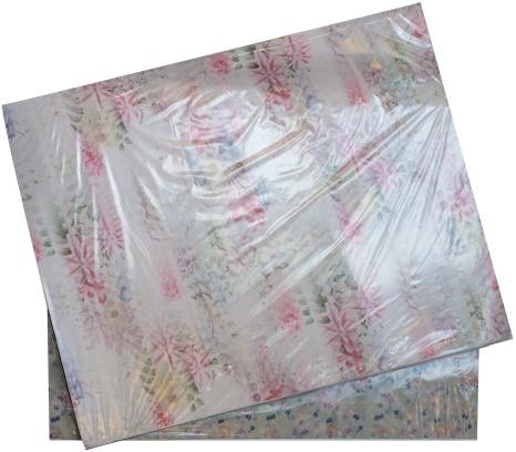 Bloemenpapier 62x80cm assortie dun