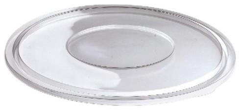 Cateringbowl deksel plat helder tbv 2250