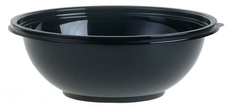 Cateringbowl pet 2250ml classic zwart 92080