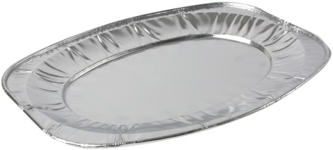 Cateringschaal aluminium 35cm