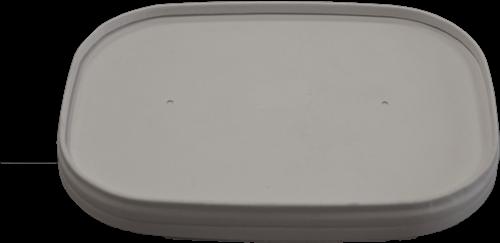 Deksel karton 176,9x123,6x19 mm Fanpak© wit