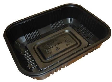 Enterpack bak pp 1000cc zwart PSW-191550