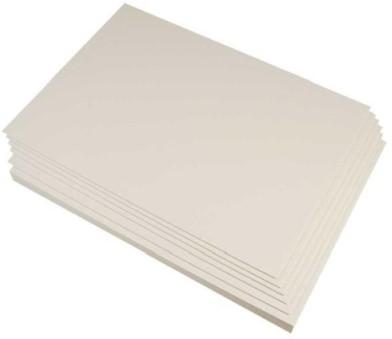 Etalagekarton 320 gram wit 8x12 cm