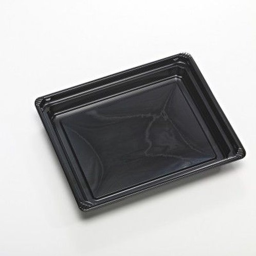 Fancy tray apet 170x140x22mm zwart S9333.02
