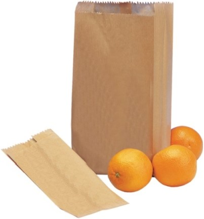 Fruitzak bruinkraft 2 pond blanco