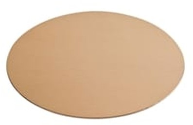 Goud/zilverkarton diameter 20cm rond 39