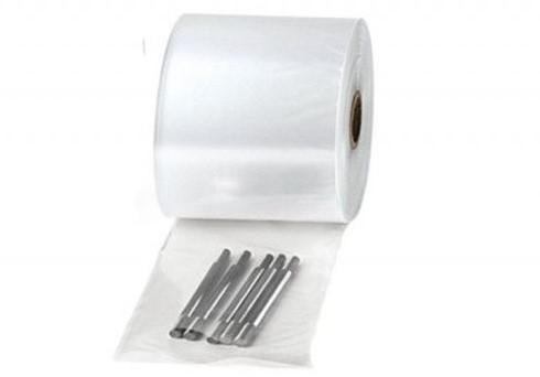 Half buisfolie 50/100cm 30my transparant+microperforatie antistatisch