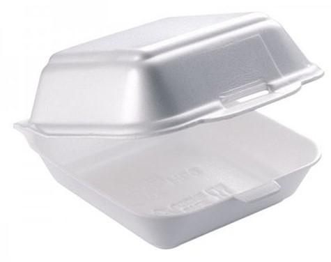 Hamburgerbox HB7 wit 135x135x70mm