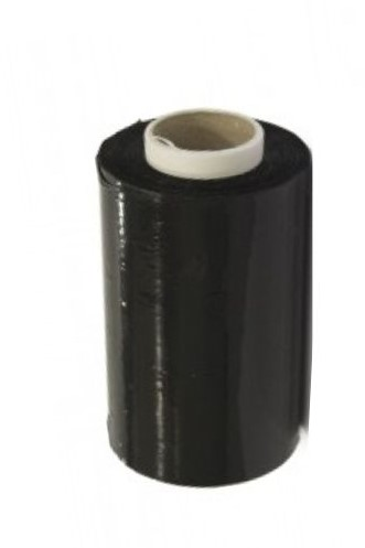 Handstretch folie 10cm / 250m 23my zwart