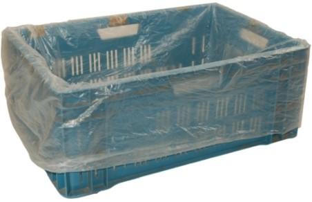 Hdpe kratzak 68/17x63cm transparant