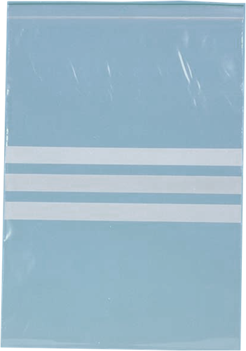 Ldpe sealgripzak 100x150mm + schrijfvlak