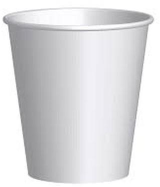 Koffiebeker karton 237ml 8oz wit