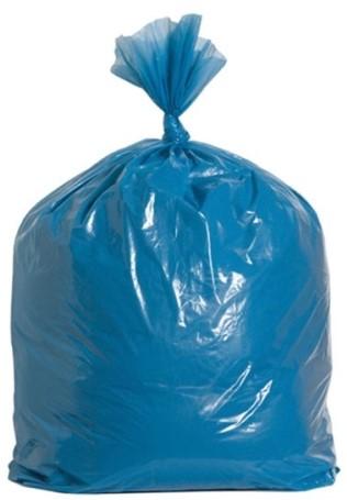 Ldpe afvalzak 70x110 blauw T50 R10x20