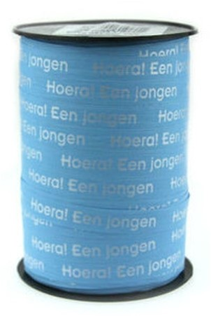 Lint Paperlike 10mm 250 meter - blauw Jongen