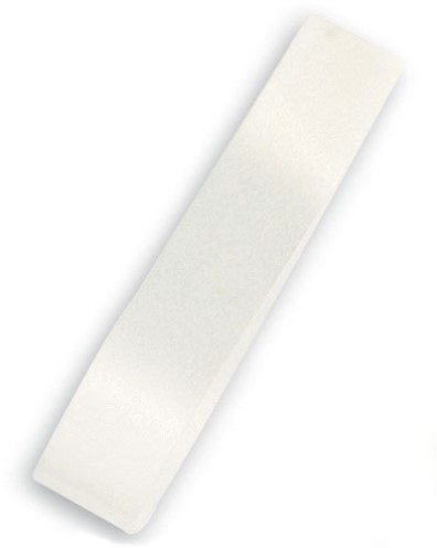 Lint Polyband 5mm 500 meter - wit / latte 06