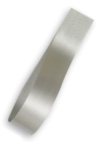 Lint Polyband 5mm 500 meter - zilver / argento 19
