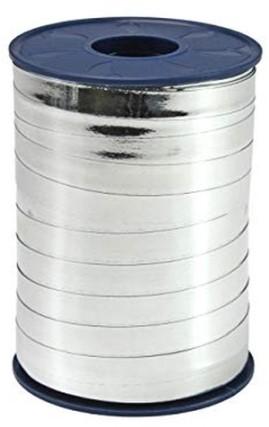 Lint Polyband metallic 10mm 250 meter - zilver