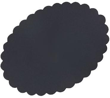 Meatsaver ovaal 130x100mm zwart