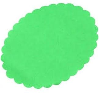Meatsaver ovaal 145x122mm groen