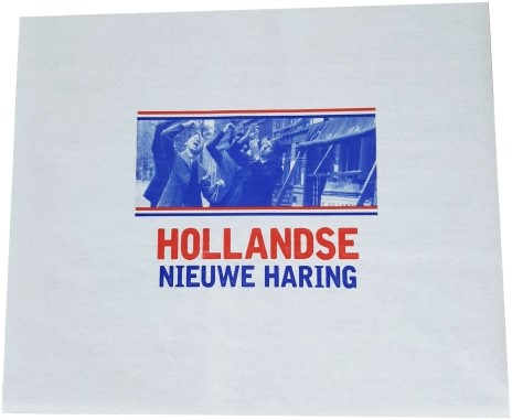 Hollandse Nieuwe Haring inpakvel 33x40  cm