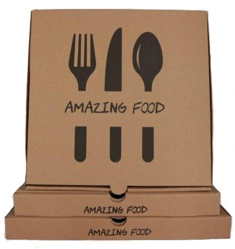Pizzadoos Amazing Food 26x26x3 cm