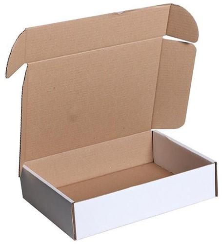 Verzenddoos Postpack 305x220x80mm wit