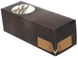Rollade doos Greystone zonder venster 25x10x9cm