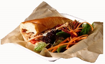 Sandwich vel 28x33cm bruin FSC®
