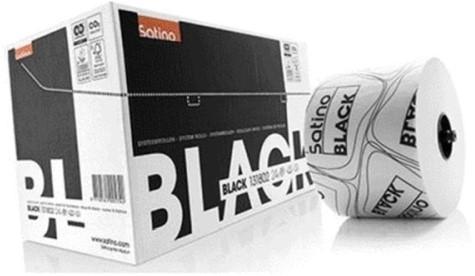 Satino Black 2 laags toiletrol @24