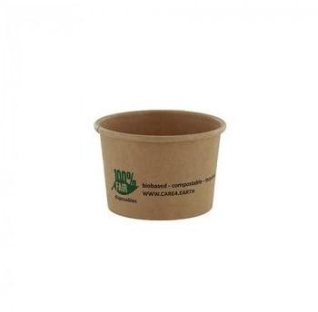Sausbak bruin karton 100% Fair 30ml rond25631 (40ml)