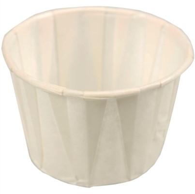 Sauscup 50 ml papier wit F200