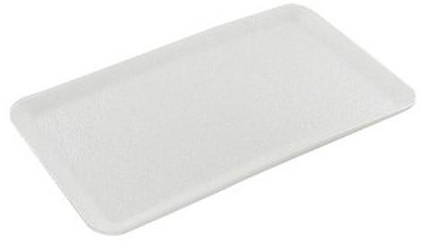 Schuimschaaltjes wit 13x17 cm
