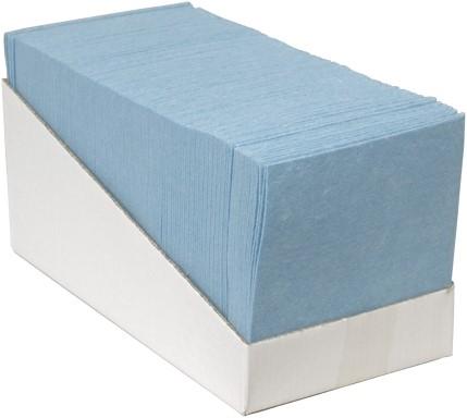 Sopdoeken blauw 38x40cm @65