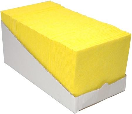 Sopdoeken geel 38x40cm @65
