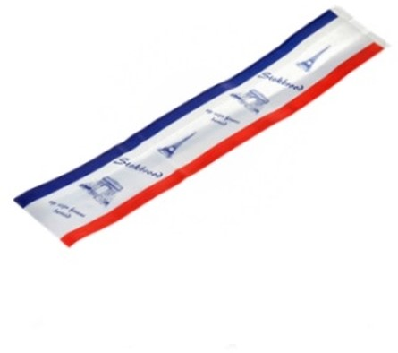 Stokbroodzak neutraal 10,5x8,5x58cm