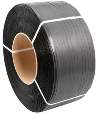 Strappingband pp 12mm/3000m 65my / kern 406 zwart