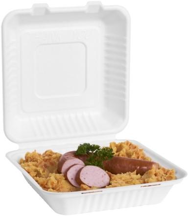 Suikerriet menubox groot 22,8x22,8x7,6cm