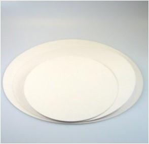 Taartkarton rond 22cm wit