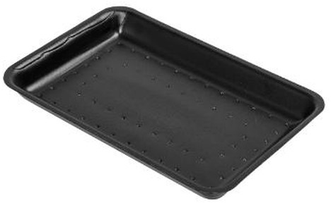 Toptray zwart 70-40 175x135x40mm VAMPIRELLA